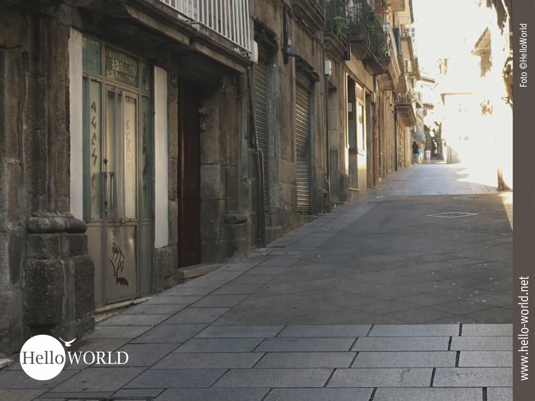 Gasse in Vigo