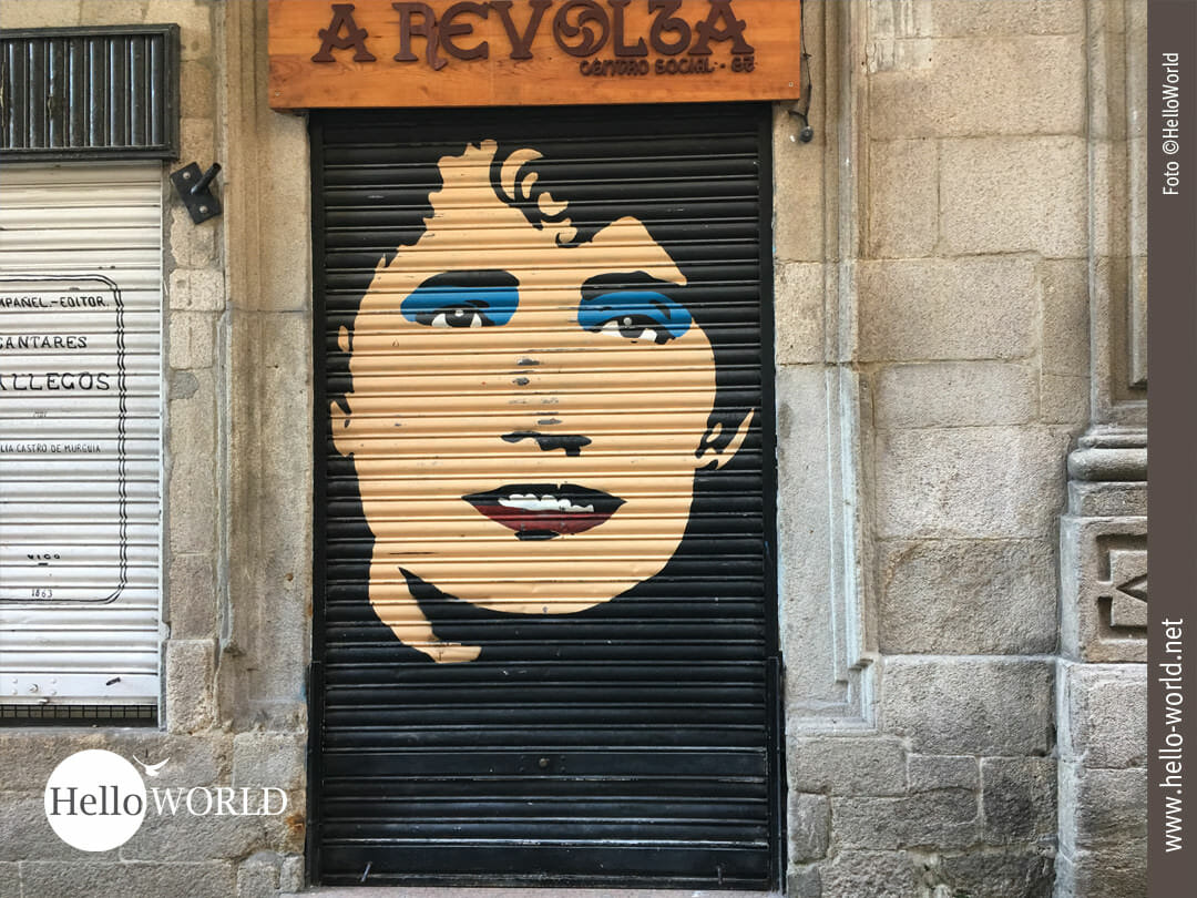 Streetart in Vigo