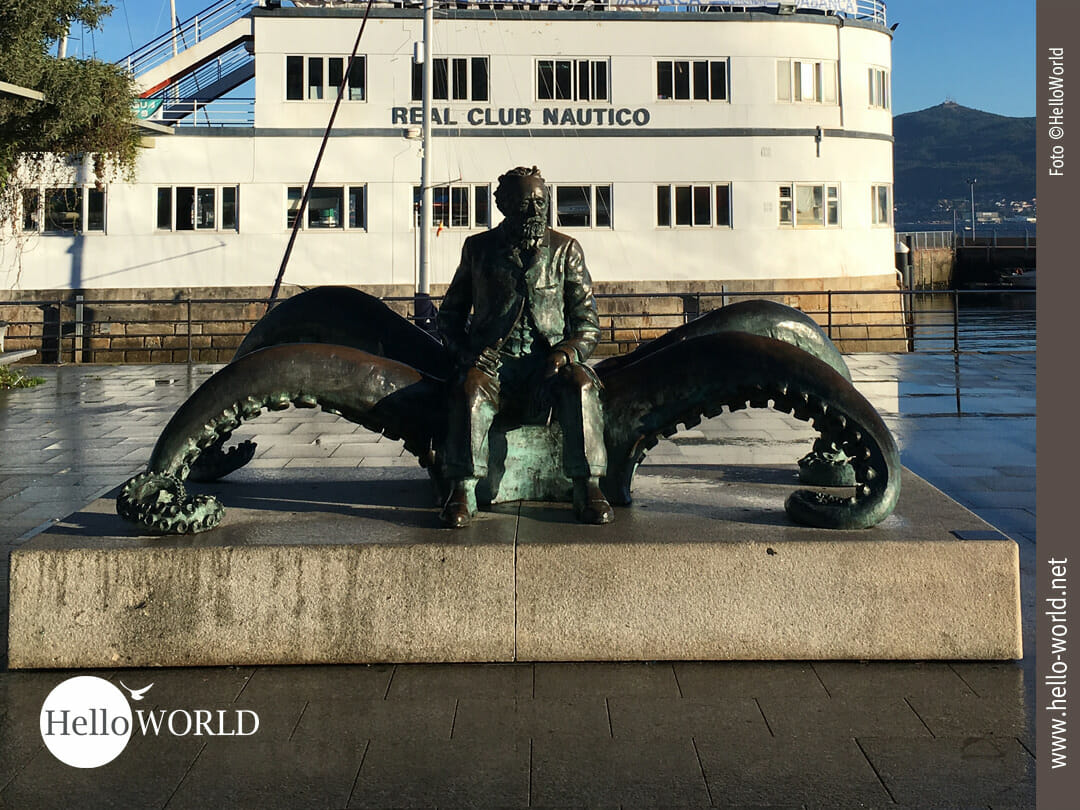 Monumento a Jules Verne