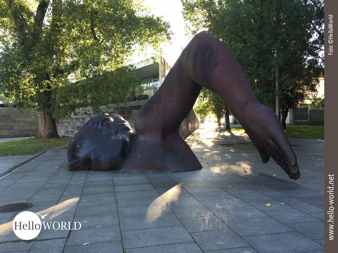 Skulptur in Vigo