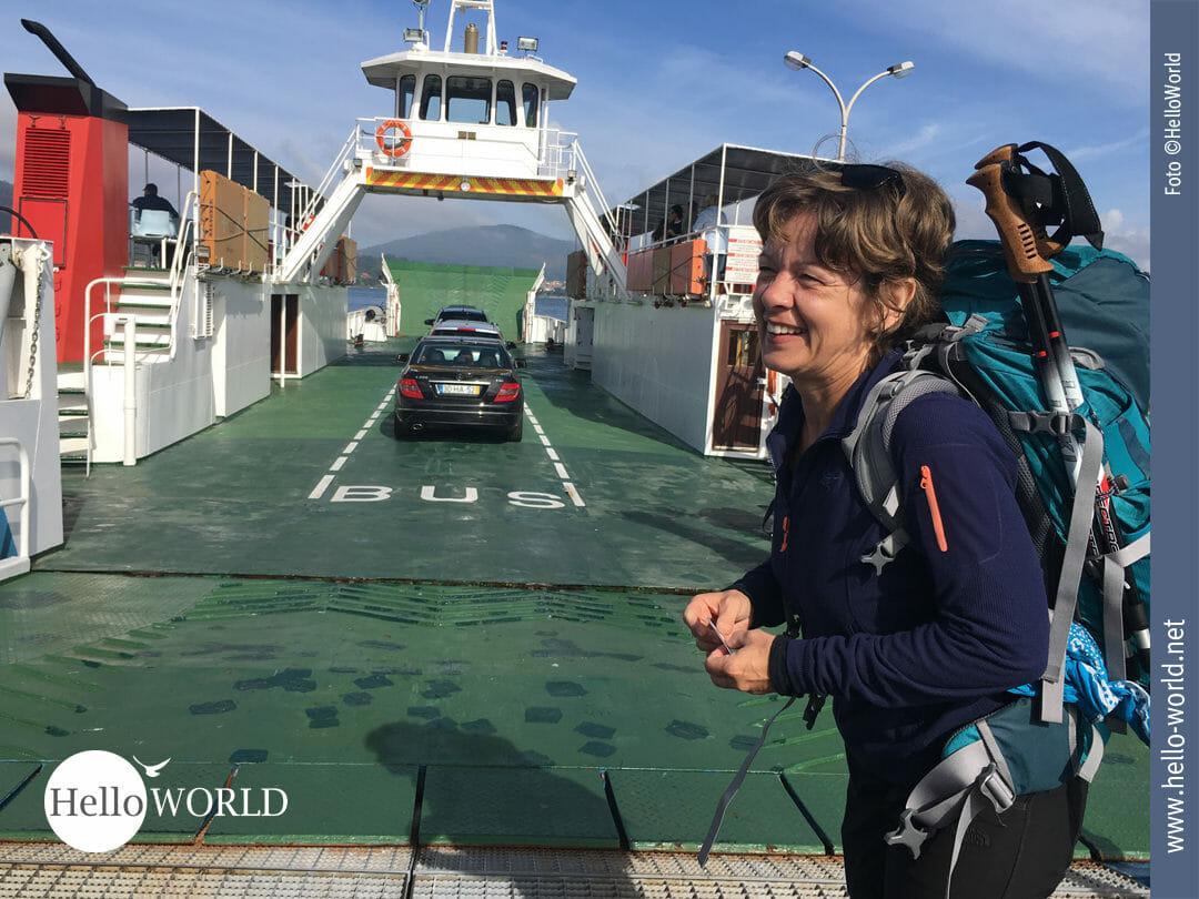 Startklar für die Überfahrt nach Spanien