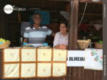 Nett betreut: Marktstand in Ancora