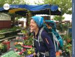 Spaziergang über den Markt in Ancora