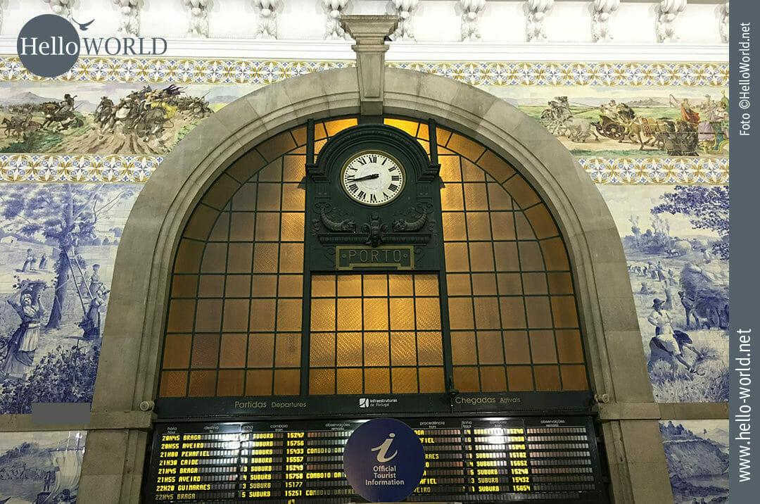 Wunderschöne Bahnhofshalle