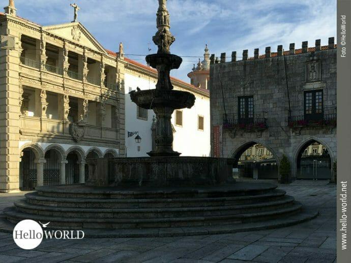 Praça da República in Viana do Castelo