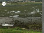 Boot auf dem Trockenen am Rio Minor