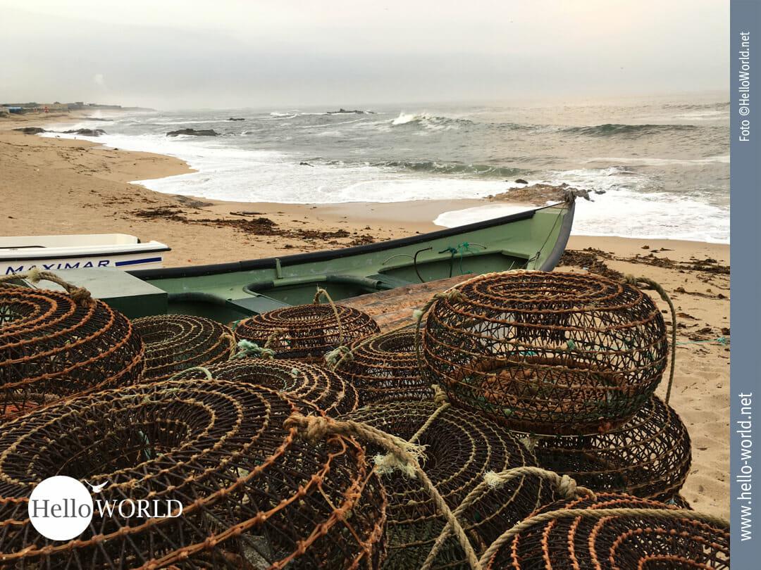 Einsatzbereit: das Fischerboot