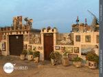 Reichlich verziert: Haus in der Morgensonne