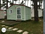 """Unsere erste """"Camping-Hütte"""" beziehen wir in Angeiras"""