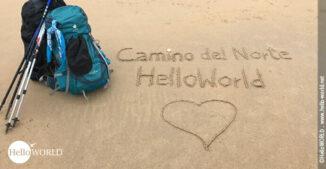 Das ist das Titelbild vom Camino del Norte Beitrag für die Vorbereitung und Planung.