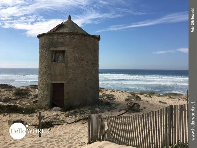 Steinmühlen auf dem Camino Portugues da Costa