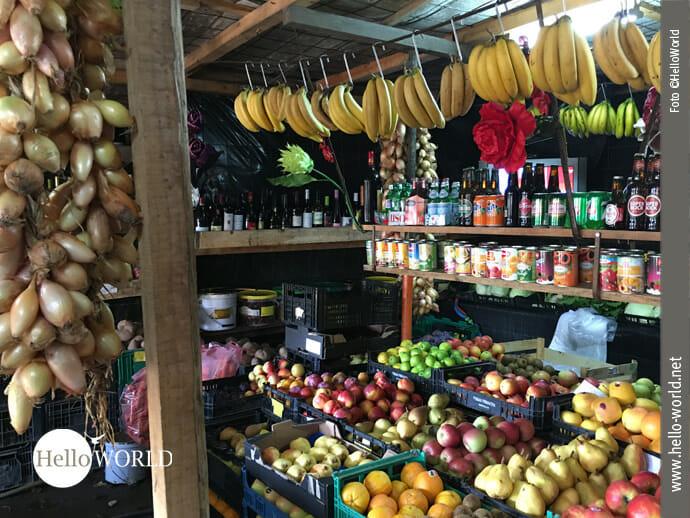 Vitaminreiche Kost auf dem Jakobsweg