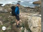 Camino Portugues da Costa: Felsen und Meer