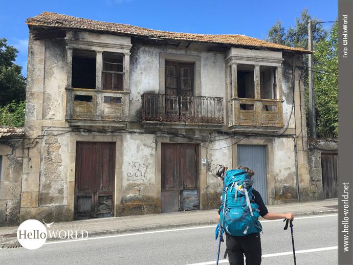 Auf dem Caminho Portugues hat alles seinen Reiz...