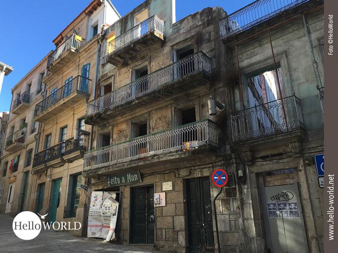 Caminho Portugues-Zwischenstopp in Vigo