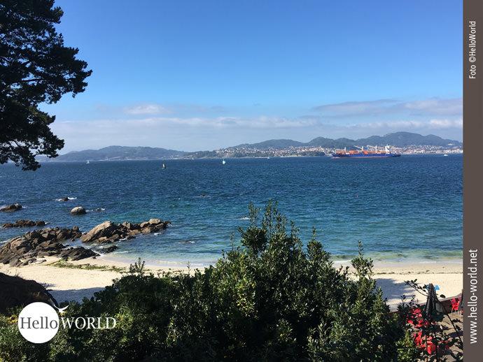Traumstrand am Camino Portugues da Costa