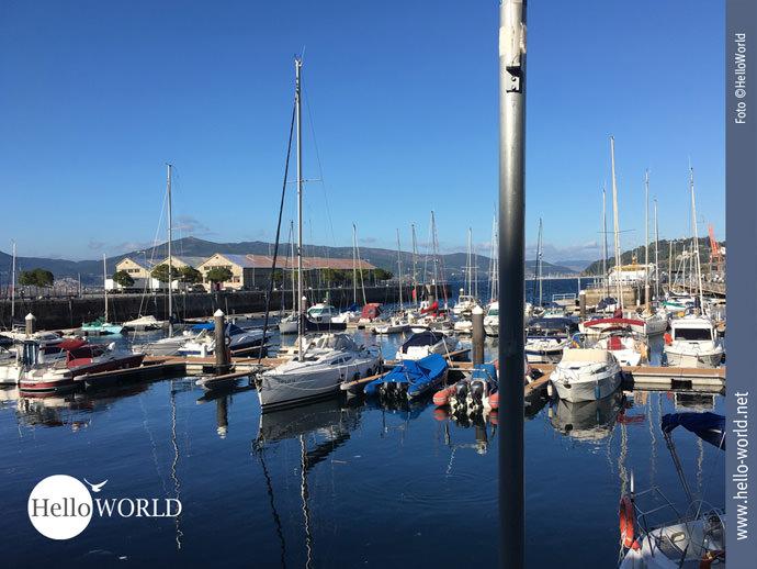 Kein Camino Portugues da Costa ohne Hafen