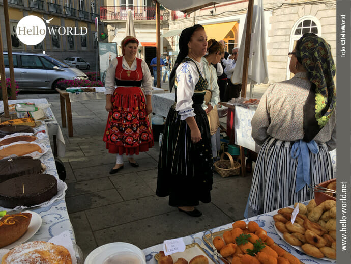 Traditionsreich: Marktfrauen in Viana do Castelo