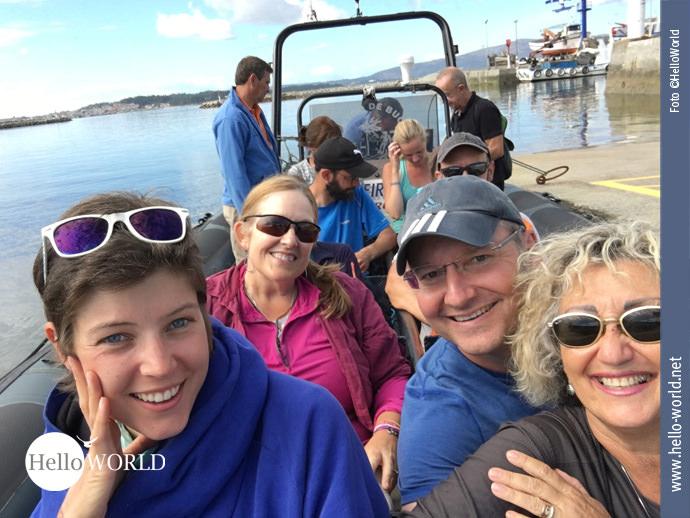 Auf dem Caminho Portugues sitzen alle in einem Boot