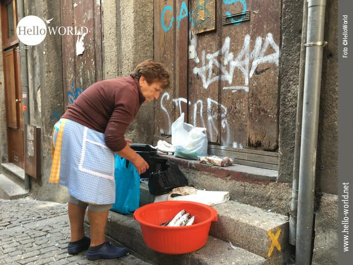 Die Gassen von Porto sind echte Lebensräume