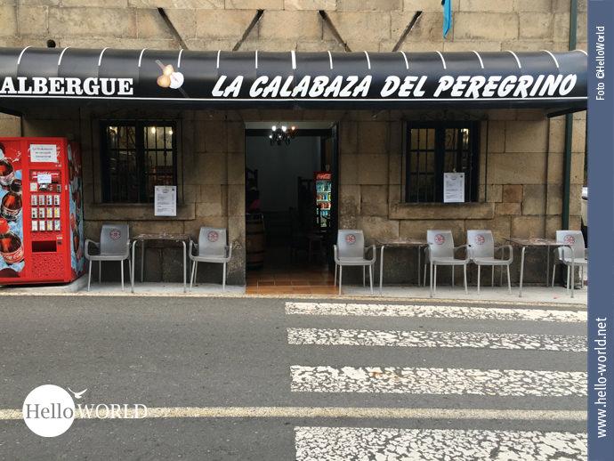 Ziel der elften Camino Portugues-Etappe: Faramello