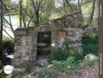 Steinmühlenruine entlang der Pilgerroute
