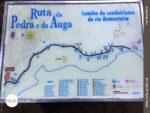 Informationstafel zur Ruta da Pedra e da Auga