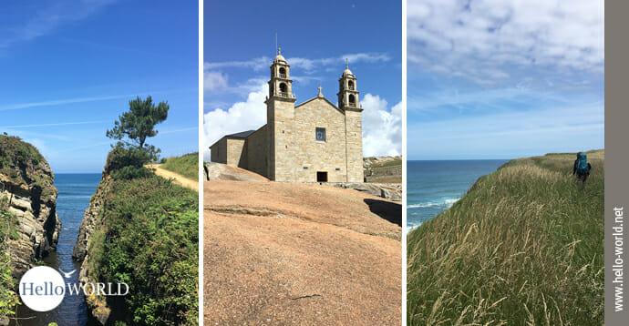 Das Bild zeigt den Einstieg zur Camino del Norte Galerie mit 500 Fotos vom Küstenweg.