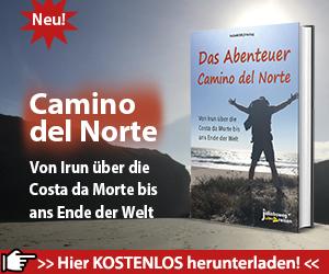 Hier sieht man den Teaser für das eBook zum Camino del Norte.