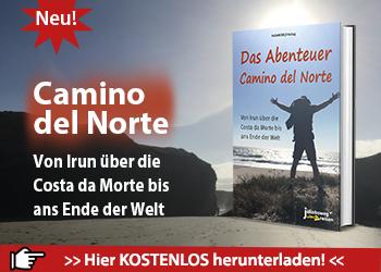 Das ist die Werbeanzeige für das eBook Camino del Norte.