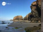 Die Steilklippen am Praia das Catedrais