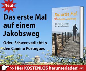 Das ist der Teaser für das eBook zum Jakobsweg Camino Portugues.