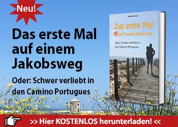 Das ist die Werbeanzeige für das eBook Camino Portugues.