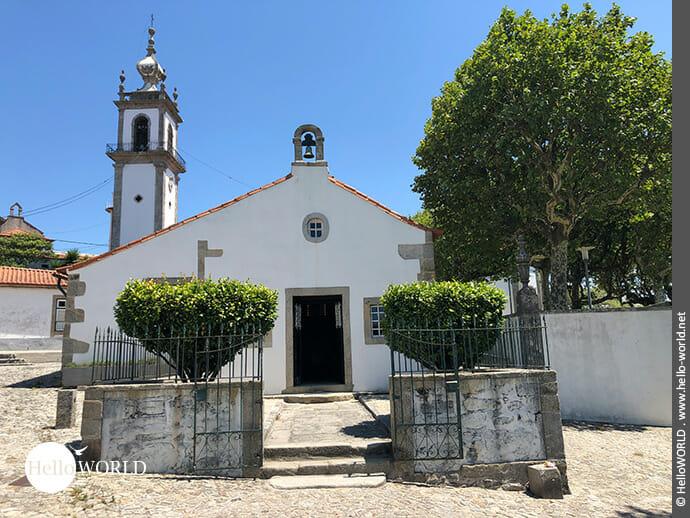 Eine von vielen Kapellen auf dem Camino Portugues Küstenweg