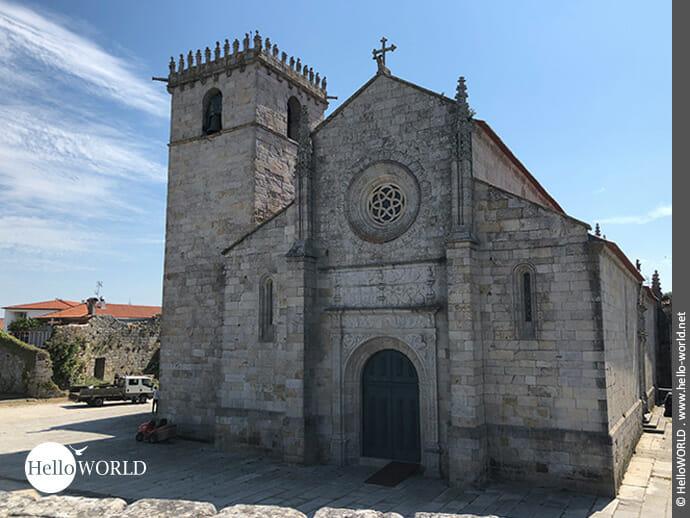 Bedeutend: die Igreja Matriz in Caminha