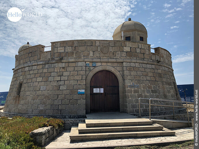 Runde Sache: das Museo do Mar in A Guadra