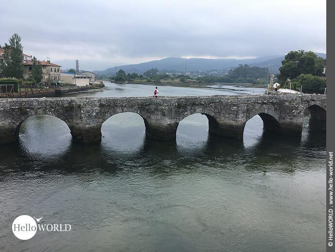 Gut geschwungen: die Puente románico de la Ramallosa