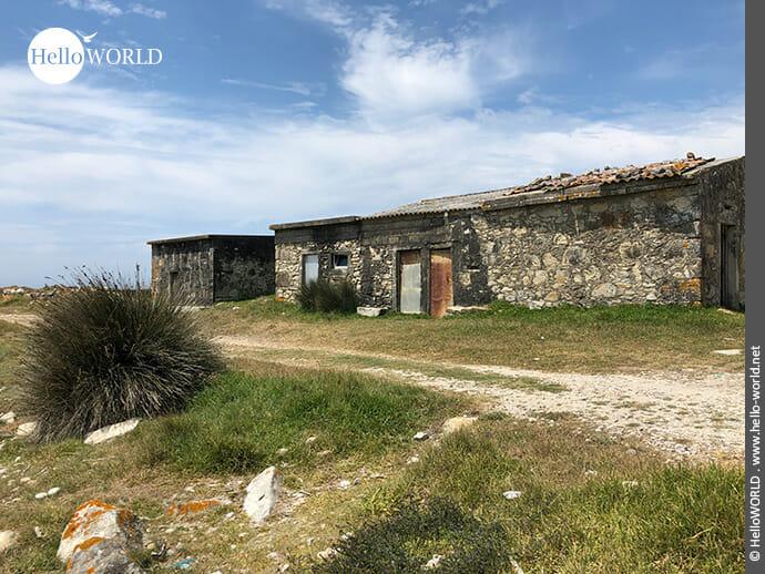 Idyllische Lage: Fischerhäuschen auf dem Camino Portugues Küstenweg