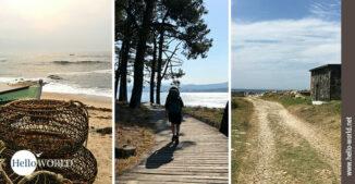 Dies ist das Einstiegsbild zur Galerie Camino Portugues Küstenweg