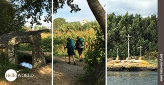 Titelbild zur Galerie Camino Portugues Küstenweg Bilder Variante Espiritual