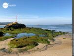 Küstenimpression auf dem Camino Portugues Rundwanderweg bei O Muino