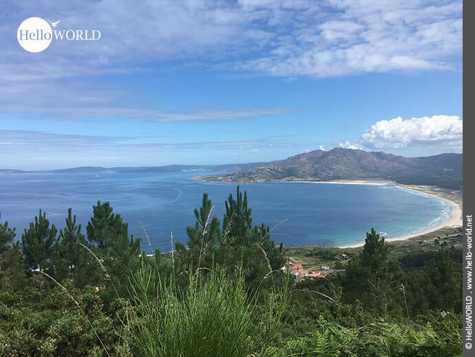 Traumhaft: Blick auf den Praia de Carnota