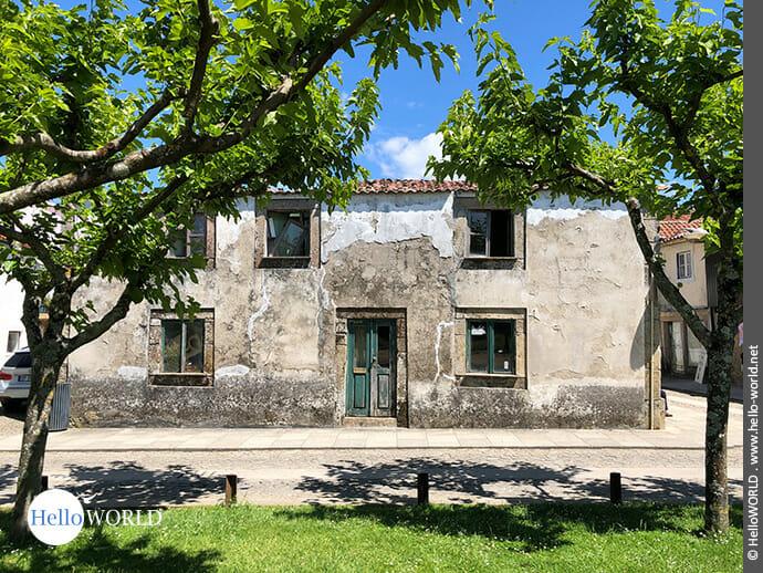 Zerfallenes Haus in Valenca