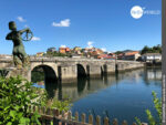 Mittelalterliche Flussüberquerung: die Ponte Medieval de Pontesampaio
