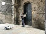 Galizische Tradition: Spielen auf dem Dudelsack