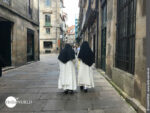 Unterwegs in den Gassen von Santiago de Compostela