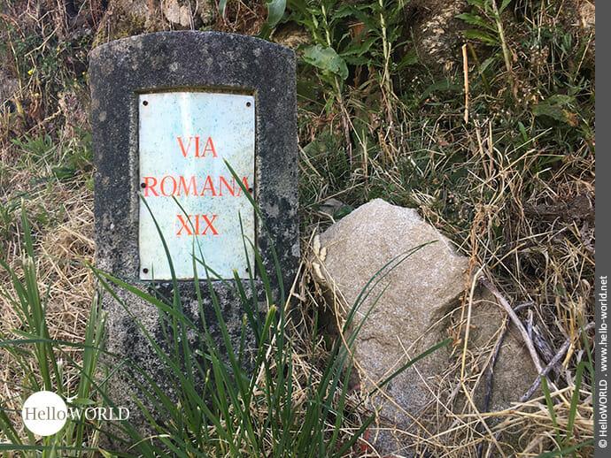 Via Romana XIX: auf den Spuren der alten Römer