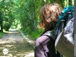 Wegansicht auf dem Camino Portugues Central