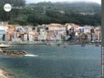 Buntes Küstenstädtchen: A Guarda in Spanien