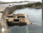 Seltsames Gebilde: ein ehemaliges Meeresfrüchtelager